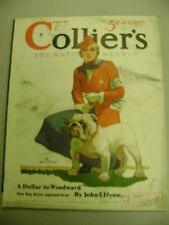 COLLIERS MAGAZINE MARCH 9 1935 A DOLLAR TO WINDWARD JOHN T FLYNN DOG SHOW COVER