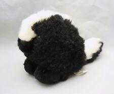 Puffkins Odie the Skunk, plush stuffed animal, Swibco