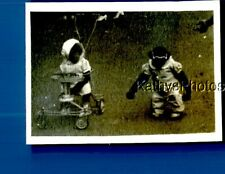 Found B&W Photo F+4757 Monkey In Clothes And Sunglasses By Other In Stroller