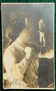 Dame Nellie Melba Photo Postcard Signed Original