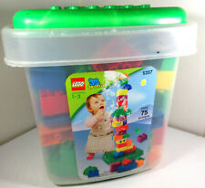 LEGO Quatro 5357 w/ Case 75 Pieces Preschool Toddler Building Toys COMPLETE