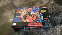 Super Nintendo SNES Art Of Fighting Complete In Box CIB