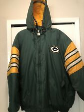 Vintage Mens Greenbay Packers Logo 7  NFL Winter Jacket Sz.2XL