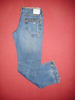 Designer Superdry - W28 L32 - Zip-Fly - Ladies Blue Denim Jeans - K848*