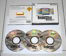 Software MICROSOFT BACKOFFICE SMALL BUSINESS SERVER 4.5 Office 1999 Windows