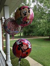 Baby Minnie Mouse It's a Girl shower Mickey Congratulations mylar BALLOON 16 Lot