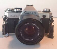 CANON AE-1 35MM SLR Camera And CANON FD 50MM Lens With Original Case And Strap