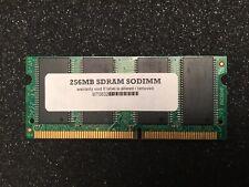 New listing Generic Ram 256Mb Sodimm Pc133 133Mhz Non-Ecc Sdram Notebook Memory