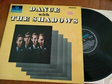 THE SHADOWS DANCE WITH THE SHADOS LP 1964 COLUMBIA 33SX 1619 MONO