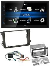 JVC 2DIN Bluetooth MP3 AUX USB Autoradio für Skoda Fabia Octavia II Rapid Roomst
