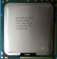 JOB LOT 9 X Intel Xeon X5550 Quad Core 2.66GHz di seconda generazione-Intel # SLBF 5