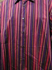 Poggianti 1958 men's Striped Long Sleeve XL shirt