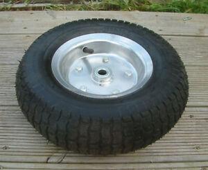 13 inch Pneumatic Garden Cart hand Truck Steel Wheel 13x5:00-6 Tyre 4 ply rating