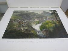 Antique rese minnen 1880's large folio color lithographs book prints  Austria