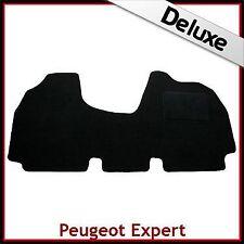 PEUGEOT Expert Mk1 1996-2006 su misura 1300g di Lusso Tappeto Auto Tappetino Nero