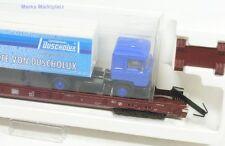 H0 Niederflurwagen RoLa DB m. MAN LKW Duscholux Märklin 4842 NEU OVP