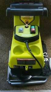 Sun Joe CJ603E 15 Amp 1.7 Inch Cutting Diameter Electric Silent Wood Chipper