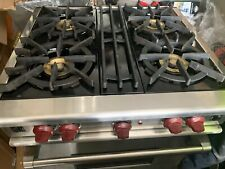 """Wolf 30"""" Professional Gas Range Oven Stainless Steel"""