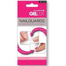 Salon System Gellux Nailguards 54 Tablettes porté Sous Gel UV Vernis Protèges