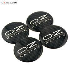 4pc 56mm OZ RACING Emblem Car Auto Wheel Center Badge Sticker