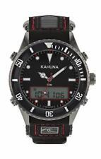 Reloj Deportivo Kahuna hombres Esfera Negra Correa de cinta Rip Ana-digi-PVP: 45 EUR-K5V-0010G