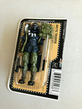 25TH GI JOE FIGURE ARCTIC TROOPER SNAKE EYES 100% COMPLETE W/FILE CARD V35 2008