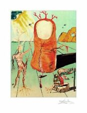 The Thumb Limited Edition Giclee Salvador Dali Art Print 18x13