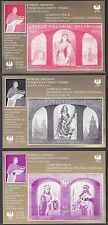 POLAND 1966 RELIGION 6 OFFICIAL SOUVENIR SHEETS TO COMMERATE THOUSAND YEAR ANNIV