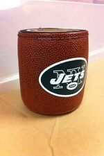 New York Jets Game Ball Drink Holder Koozie SUPER NICE QUALITY! Beer, Soda can