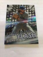 2020 Topps Chrome Bo Bichette Freshman Flash Rookie Insert FF-1 Blue Jays RC