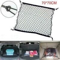 Mesh Netting Van SUV Elastic Floor Car Boot Net Cargo Organiser Black K2T2