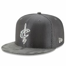 Cleveland Cavaliers New Era NBA Draft 59FIFTY Fitted Hat - Graphite/Silver