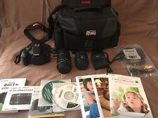 Canon EOS Rebel T3i / 600D 18.0MP Digital SLR Camera Kit w/ 18-55 & 55-250 ~HDMI