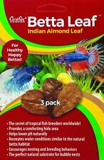 CARIBSEA JUNGLE INDIAN ALMOND BETTA LEAF TROPICAL TERRARIUM INSECT. USA