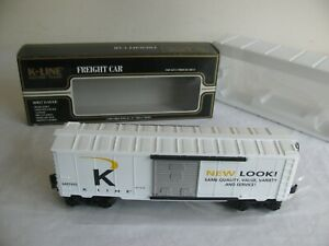 K-Line O/O-27 Scale New Look Box Car #K640-7405 EX