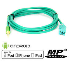 Câble AUX MP3 HD Premium v2 Renault Clio 3, Megane 2, Laguna, Scenic, Modus