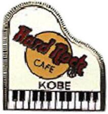 Hard Rock Cafe KOBE 2000 White GRAND PIANO PIN 3LC Logos - HRC Catalog #3965
