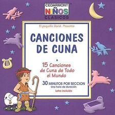 Cedarmont Kids : Canciones De Cuna CD