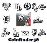 MLB Baseball Chrome 3 D Sticker Decal Emblem Car Truck SUV - Pick Team