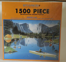 Bits & Pieces Jigsaw Puzzle 1500 Piece Mirror Lake FACTORY SEALED Find Mistakes