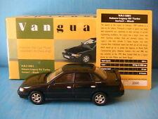 SUBARU LEGACY RS TURBO 1991 BLACK SERIES 1 VANGUARDS VA11801 1/43 NOIRE NOIR