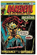 DAREDEVIL #125 FN+ 2nd Appearance of COPPERHEAD! 1975 Classic Bronze-Age Marvel