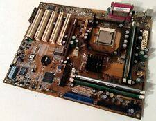 RARE ASUS P4T-E Intel 850 ICH2 Socket 478 P4 Motherboard /w 256MB RDRAM + CPU