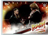 2019 WWE Raw Spotlight #13 Ronda Rousey
