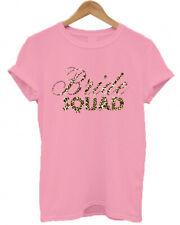 BRIDE SQUAD, LEOPARD PRINT, animal print, names, HEN DO/ NIGHT/ PARTY T SHIRT