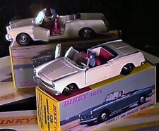 PEUGEOT 404 CABRIOLET 1961/69 : DINKY TOYS REEDITION ATLAS (blanche)