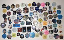 Vintage Alien Area 51 Science Fiction Space Pop Culture Pinback Lot Button Pins