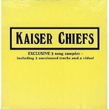 KAISER CHIEFS Everything  & admire RARE LIVE TRX & VIDEO CD Single SEALED 2007