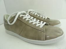 Calvin Klein Jeans Mens Hart High Shine Light Taupe Fashion Sneakers Size 11