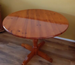 Pine table used